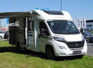 Teilintegriertes Wohnmobil - ETRUSCO T 7300 SB